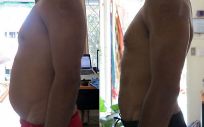 Losing a beer belly in three months